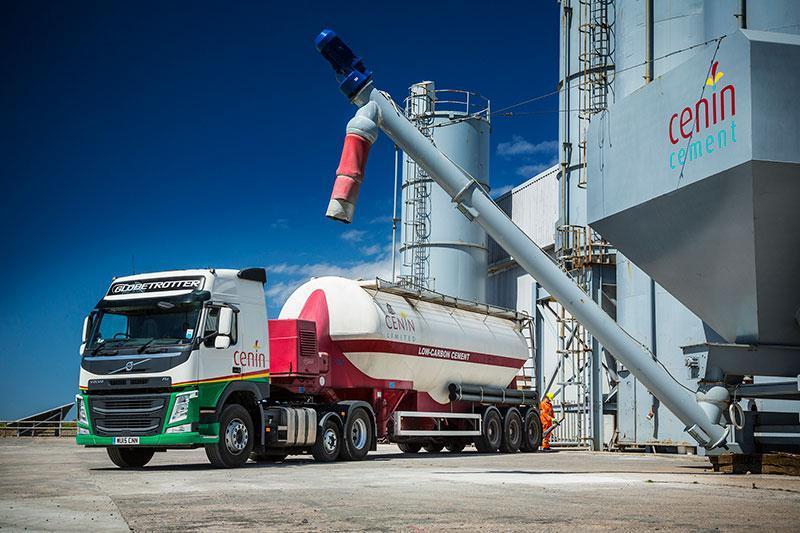 Cenin cement lorry
