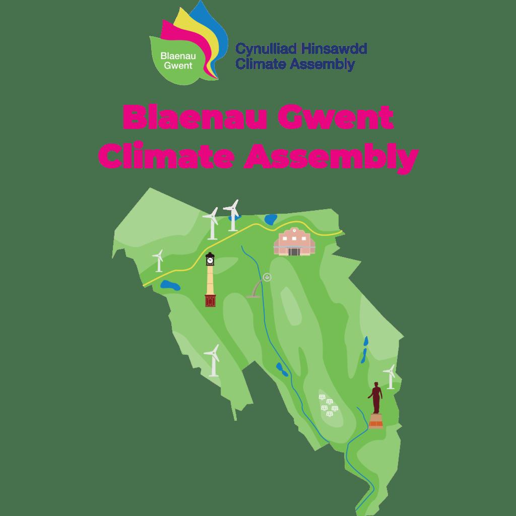 Illustration of Blaenau Gwent area
